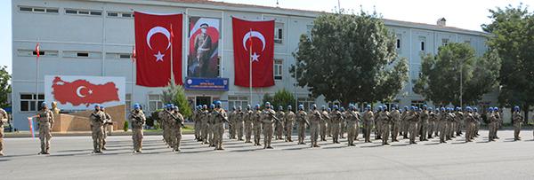 BATMAN'DAN JANDARMA KOMANDOLAR, SURİYE'YE GÖNDERİLDİ