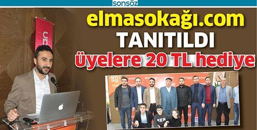 ELMASOKAĞI.COM TANITILDI
