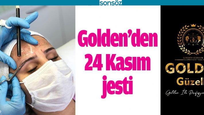BATMAN GOLDEN GÜZELLİK MERKEZİ'NDEN 24 KASIM JESTİ
