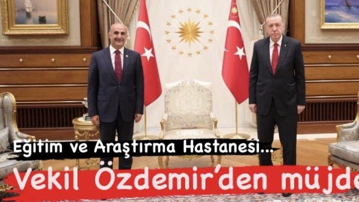 Vekil Özdemir'den müjde