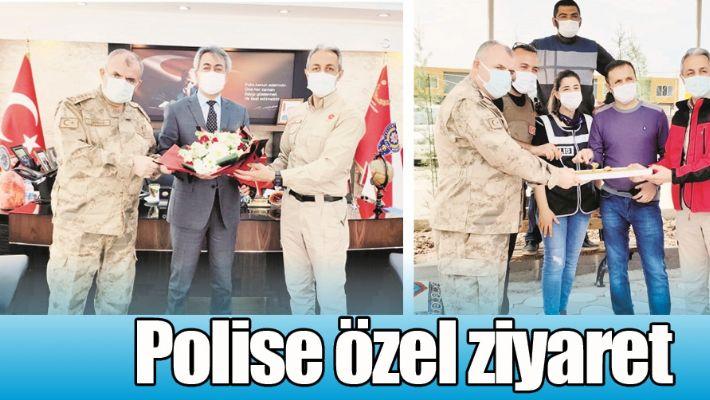 POLİSE ÖZEL ZİYARET