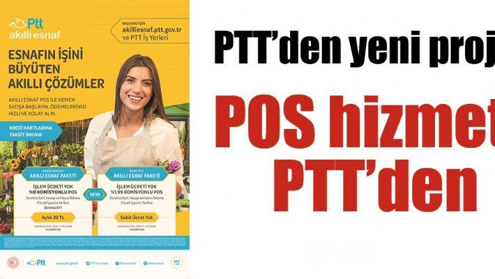 PTT'DEN YENİ PROJE