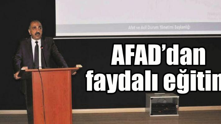 AFAD'DAN FAYDALI EĞİTİM