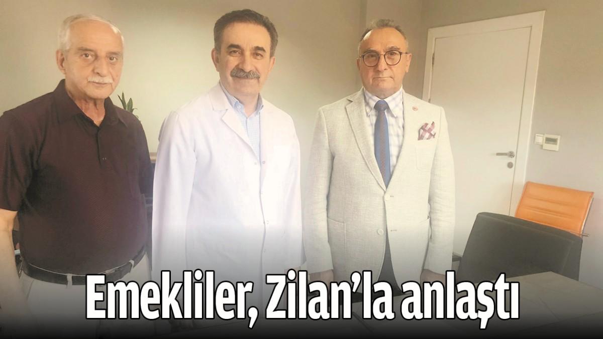 BATMAN'DA EMEKLİLER, ZİLAN'LA ANLAŞTI
