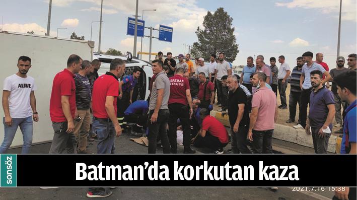 BATMAN'DA KORKUTAN KAZA
