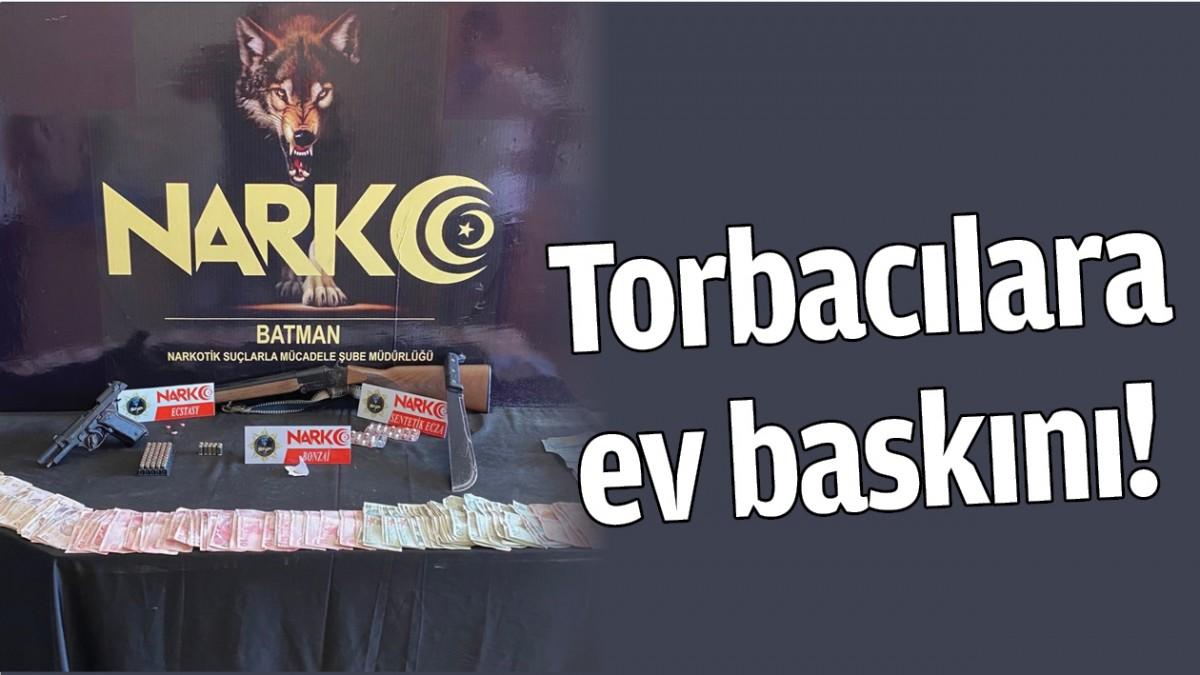 BATMAN'DA TORBACILARA EV BASKINI!