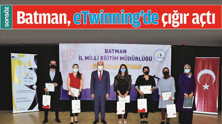 Batman, eTwinning'de çığır açtı