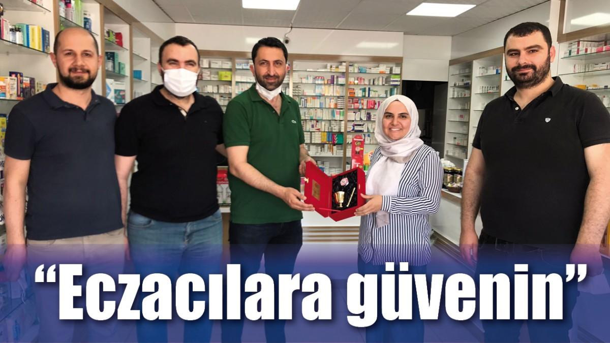 """ECZACILARA GÜVENİN"""