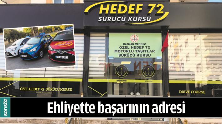 EHLİYETTE BAŞARININ ADRESİ