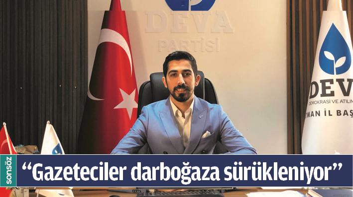 """""""GAZETECİLER DARBOĞAZA SÜRÜKLENİYOR"""""""