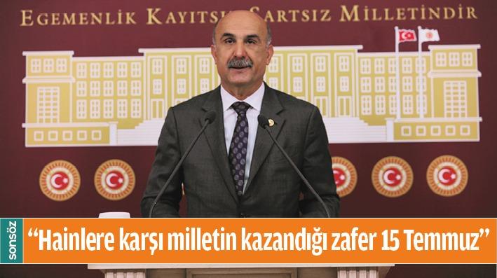 """""""HAİNLERE KARŞI MİLLETİN KAZANDIĞI ZAFER 15 TEMMUZ"""""""