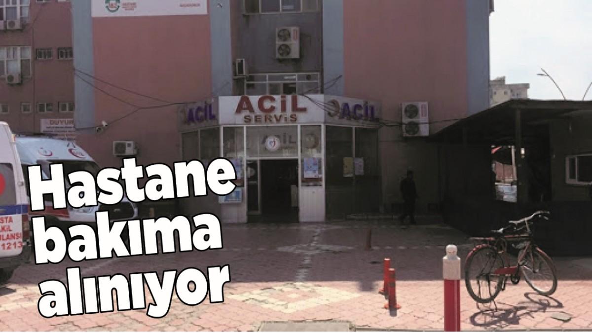 HASTANE BAKIMA ALINIYOR