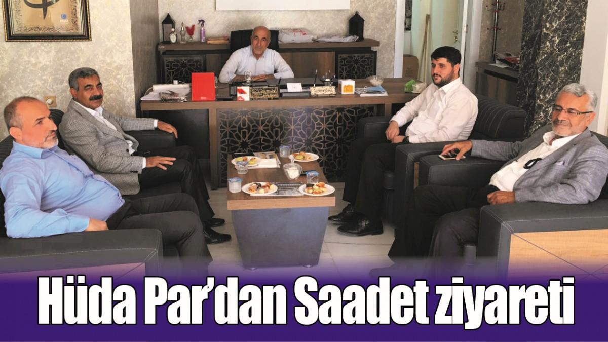 HÜDA PAR'DAN SAADET ZİYARETİ