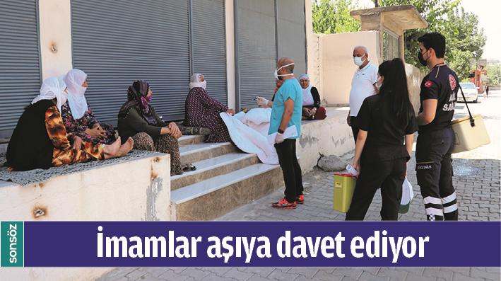 İMAMLAR AŞIYA DAVET EDİYOR