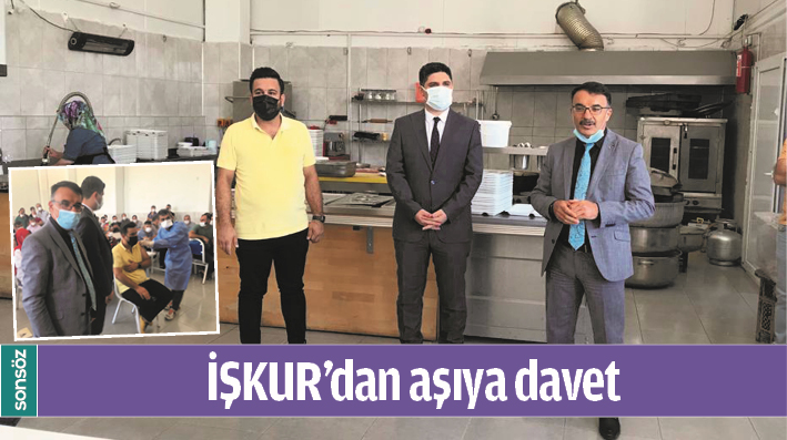 İŞKUR'DAN AŞIYA DAVET