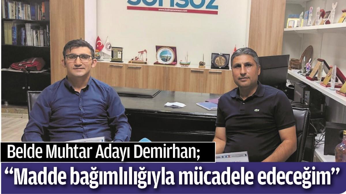 """""""MADDE BAĞIMLILIĞIYLA MÜCADELE EDECEĞİM"""""""