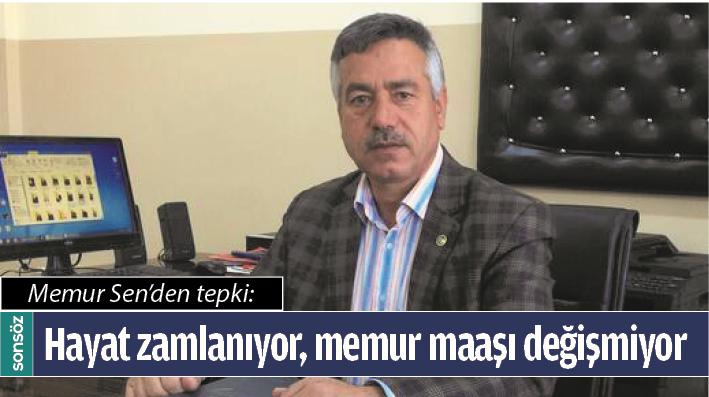 MEMUR SEN'DEN TEPKİ
