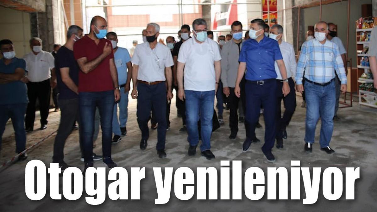 OTOGAR YENİLENİYOR