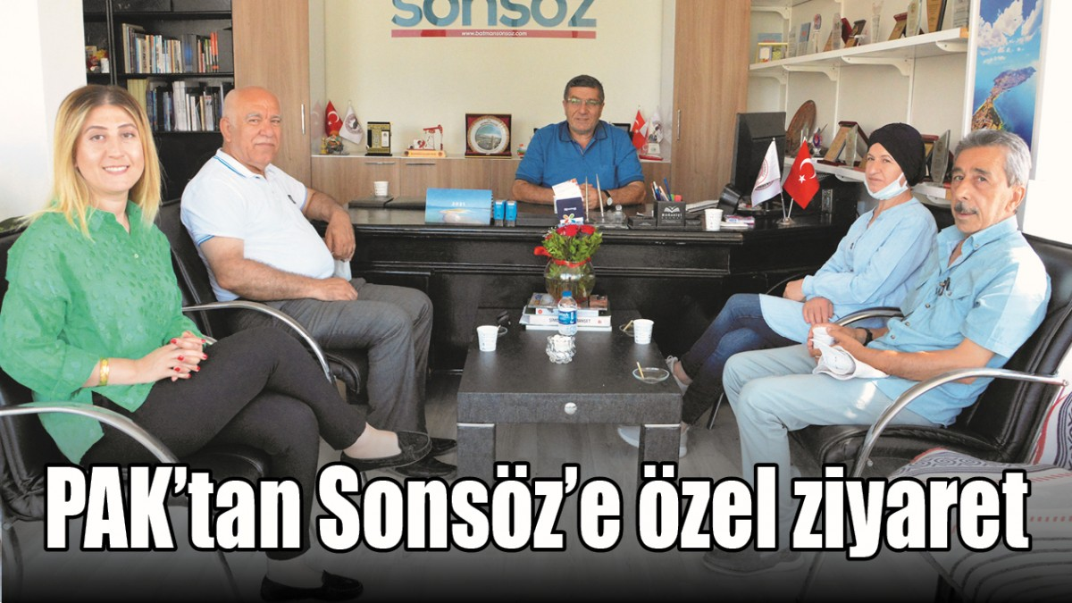 PAK'TAN SONSÖZ'E ÖZEL ZİYARET