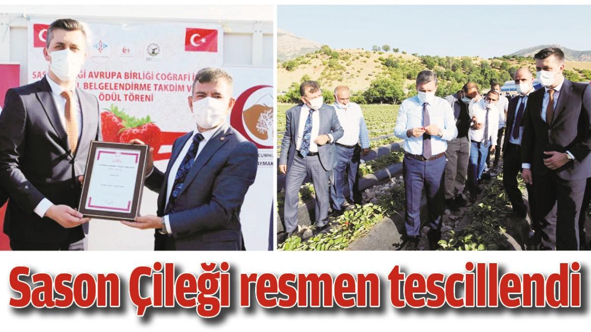 SASON ÇİLEĞİ RESMEN TESCİLLENDİ