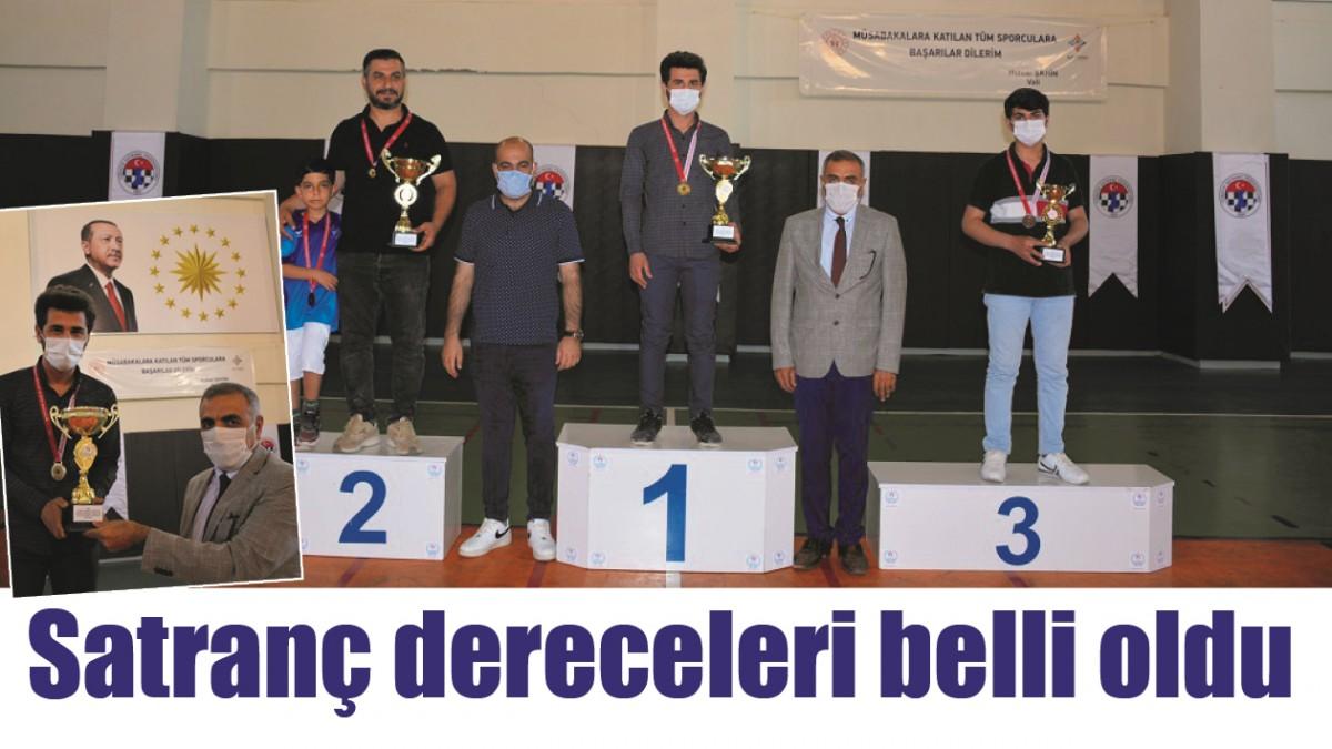 SATRANÇ DERECELERİ BELLİ OLDU
