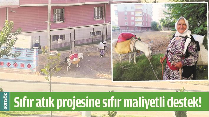 SIFIR ATIK PROJESİNE SIFIR MALİYETLİ DESTEK!