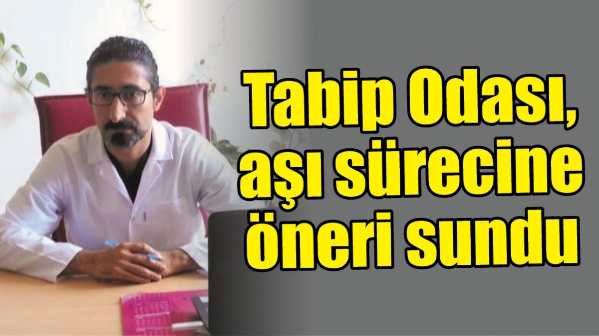 TABİP ODASI, AŞI SÜRECİNE ÖNERİ SUNDU