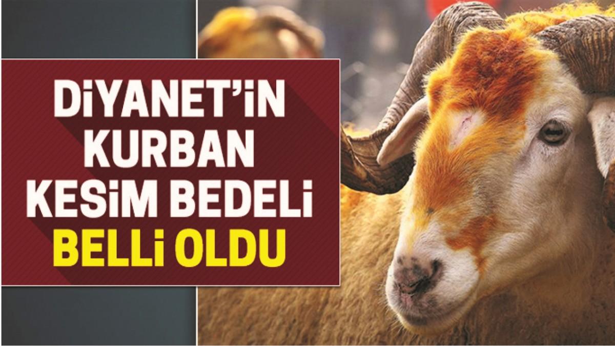 VEKALET YOLUYLA KURBAN KESİM BEDELLERİ AÇIKLANDI