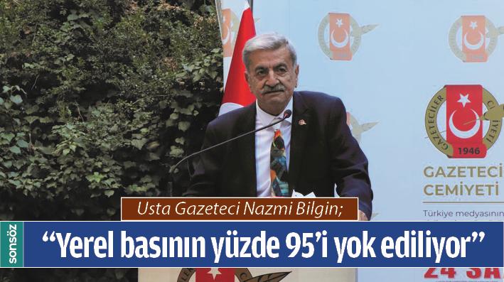 """""""YEREL BASININ YÜZDE 95'İ YOK EDİLİYOR"""""""