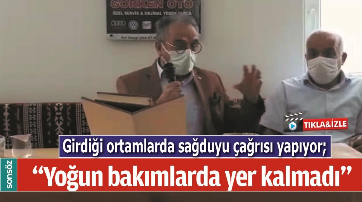 """""""YOĞUN BAKIMLARDA YER KALMADI"""""""