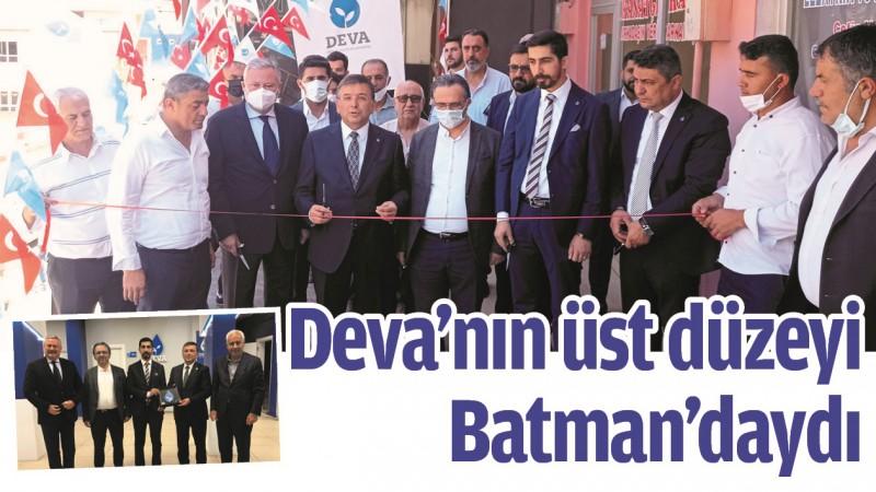 DEVA'NIN ÜST DÜZEYİ BATMAN'DAYDI