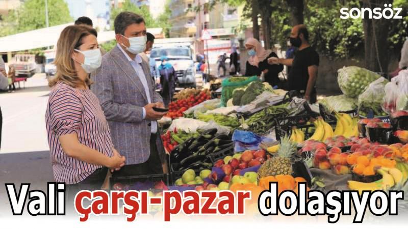 VALİ ÇARŞI-PAZAR DOLAŞIYOR
