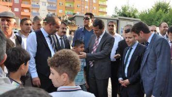 VALİ, SASON'U ZİYARET ETTİ