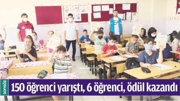 150 ÖĞRENCİ YARIŞTI, 6 ÖĞRENCİ, ÖDÜL KAZANDI
