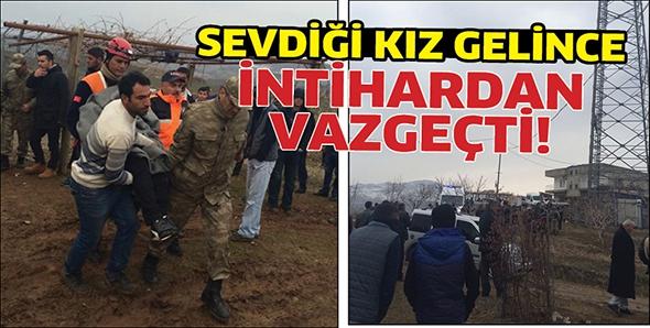 SEVDİĞİ KIZ GELİNCE İNTİHARDAN VAZGEÇTİ!