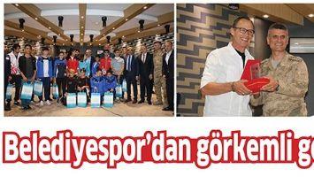 BELEDİYESPOR'DAN GÖRKEMLİ GECE