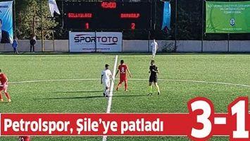 PETROLSPOR, ŞİLE'YE PATLADI