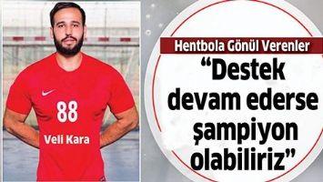 """""""DESTEK DEVAM EDERSE ŞAMPİYON OLABİLİRİZ"""""""