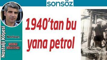 1940'TAN BU YANA PETROL
