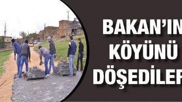BAKAN'IN KÖYÜNÜ DÖŞEDİLER!
