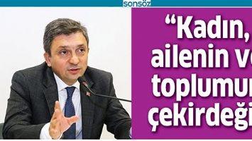 """""""KADIN, AİLENİN VE TOPLUMUN ÇEKİRDEĞİ"""""""