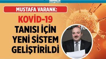KOVİD-19 TANISI İÇİN YENİ SİSTEM GELİŞTİRDİ