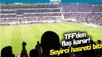 TFF'DEN FLAŞ KARAR
