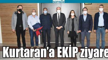 KURTARAN'A EKİP ZİYARETİ