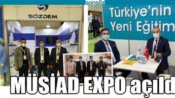 MÜSİAD EXPO AÇILDI