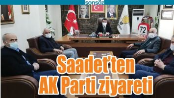 SAADET'TEN AK PARTİ ZİYARETİ