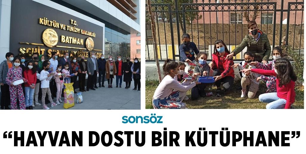 """""""HAYVAN DOSTU BİR KÜTÜPHANE"""""""
