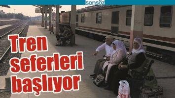 BATMAN'DA TREN SEFERLERİ BAŞLIYOR