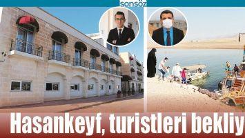 HASANKEYF, TURİSTLERİ BEKLİYOR