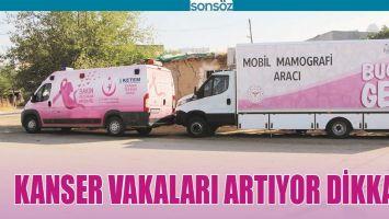 KANSER VAKALARI ARTIYOR DİKKAT!